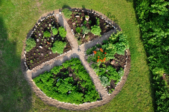Sacred Wheel Garden
